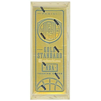 2013/14 Panini Gold Standard Basketball Hobby Box