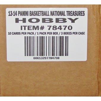 2013/14 Panini National Treasures Basketball Hobby 3-Box Case