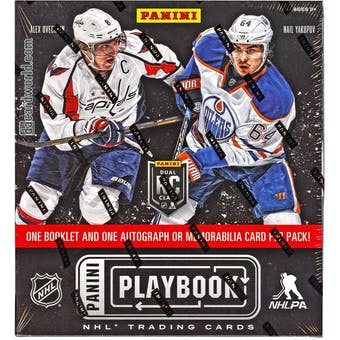2013-14 Panini Playbook Hockey Hobby Box
