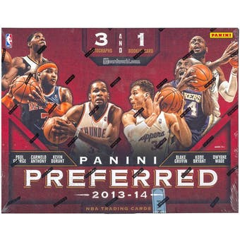 2013/14 Panini Preferred Basketball Hobby Box