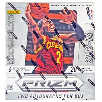2013/14 Panini Prizm Basketball Hobby Box