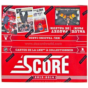 2013-14 Score Hockey Jumbo Box
