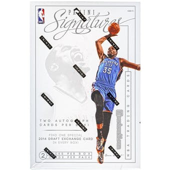2013/14 Panini Signatures Basketball Hobby Box