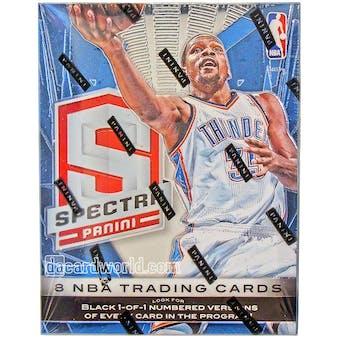 2013/14 Panini Spectra Basketball Hobby Box