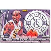 2013/14 Panini Totally Certified Basketball Hobby Box (Reed Buy)