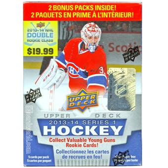 2013-14 Upper Deck Series 1 Hockey 12-Pack Box