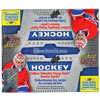 2013-14 Upper Deck Series 1 Hockey Retail 24-Pack Box - MacKinnon Rookie!