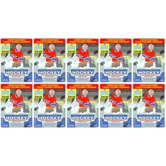 2013-14 Upper Deck Series 1 Hockey 12-Pack Box (Lot of 10) - MacKinnon Rookie!