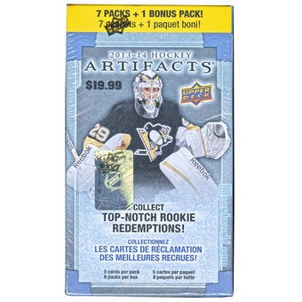 2013-14 Upper Deck Artifacts Hockey 8-Pack Box