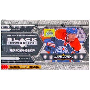 2013-14 Upper Deck Black Diamond Hockey Hobby Box