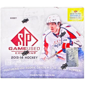 2013-14 Upper Deck SP Game Used Hockey Hobby Box