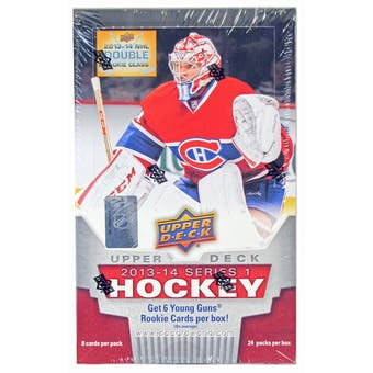 2013-14 Upper Deck Series 1 Hockey Hobby Box