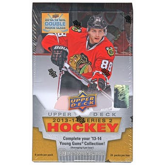 2013-14 Upper Deck Series 2 Hockey Hobby Box