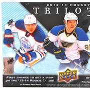 2013-14 Upper Deck Trilogy Hockey 4-Box- DACW Live 28 Spot Random Team Break #1