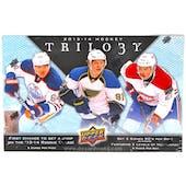 2013-14 Upper Deck Trilogy Hockey Hobby Box