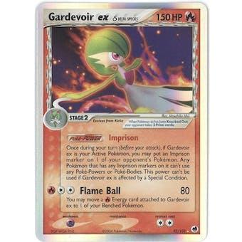 Pokemon Dragon Frontiers Single Gardevoir ex 93/101