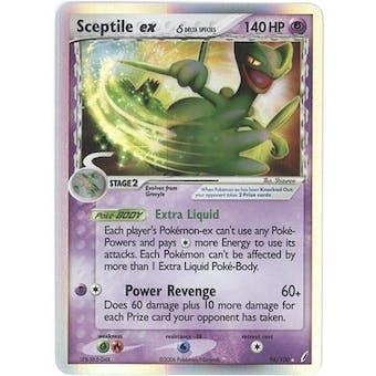 Pokemon Crystal Guardians Single Sceptile ex 96/100