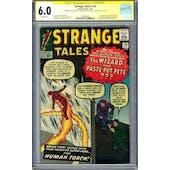 Strange Tales #110 CGC 6.0 Stan Lee Larry Lieber Signautre Series (OW) *1322606001*