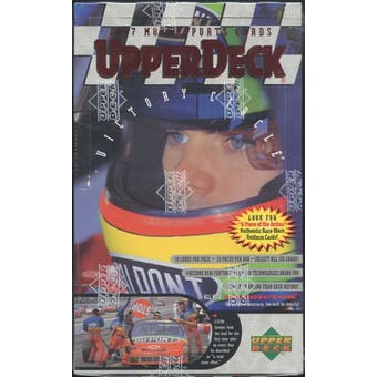 1997 Upper Deck Victory Circle Racing Hobby Box