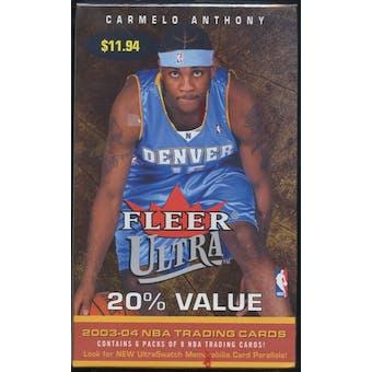 2003/04 Fleer Ultra Basketball Blaster Box