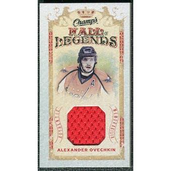 2009/10 Upper Deck Champ's Hall of Legends Memorabilia #HLAO Alexander Ovechkin