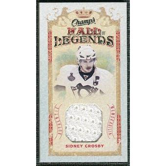 2009/10 Upper Deck Champ's Hall of Legends Memorabilia #HLSC Sidney Crosby