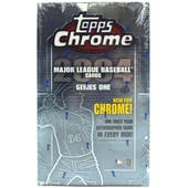2004 Topps Chrome Series 1 Baseball Hobby Box