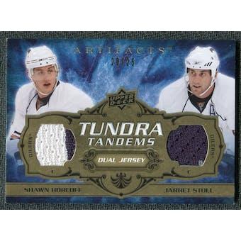 2008/09 Upper Deck Artifacts Tundra Tandems Gold #TTSH Jarret Stoll Shawn Horcoff /25