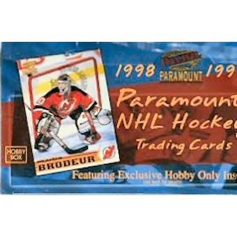 1998/99 Pacific Paramount Hockey Hobby Box