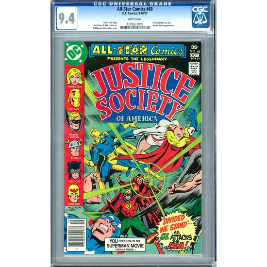All-Star Comics #68 CGC 9.4 (W) *1338661009*