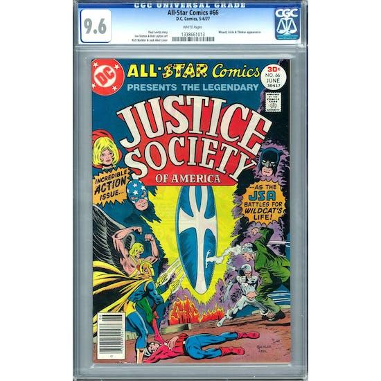 All-Star Comics #66 CGC 9.6 (W) *1338661013*