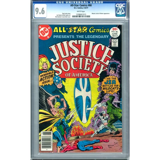 All-Star Comics #66 CGC 9.6 (W) *1338661013*