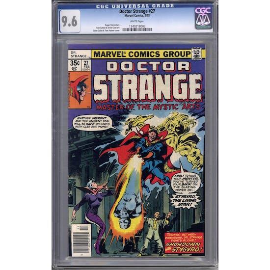 Doctor Strange #27 CGC 9.6 (W) *1340218003*