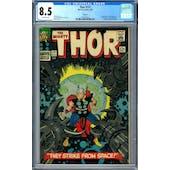 Thor #131 CGC 8.5  Oakland Pedigree (OW) *1342943031*
