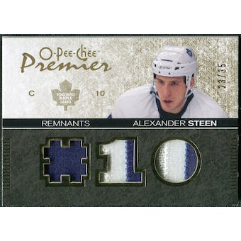 2007/08 Upper Deck OPC Premier Remnants Triples Patches #PRAS Alexander Steen /35