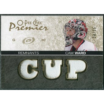 2007/08 Upper Deck OPC Premier Remnants Triples Patches #PRCW Cam Ward /35