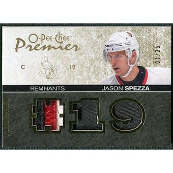 2007/08 Upper Deck OPC Premier Remnants Triples Patches #PRJS Jason Spezza /35
