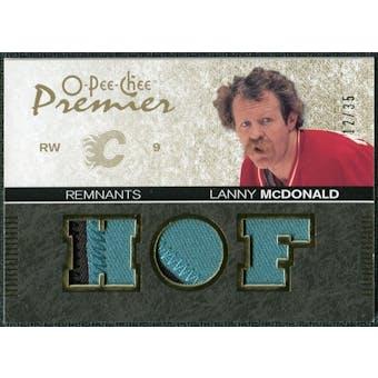 2007/08 Upper Deck OPC Premier Remnants Triples Patches #PRLM Lanny McDonald /35