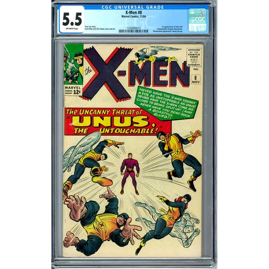 X-Men #8 CGC 5.5 (OW) *1345804010*