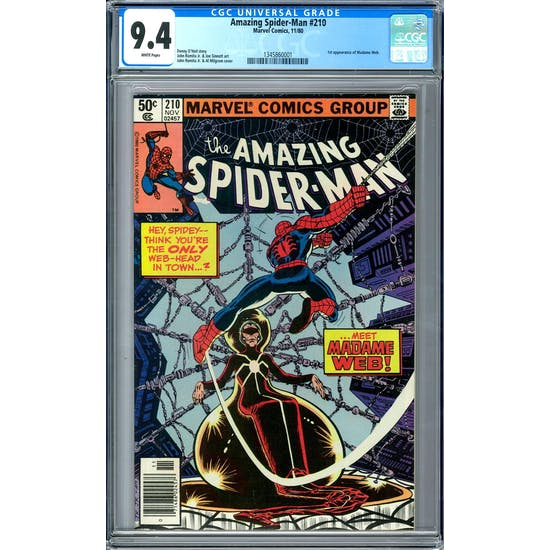 Amazing Spider-Man #210 CGC 9.4 (W) *1345860001*