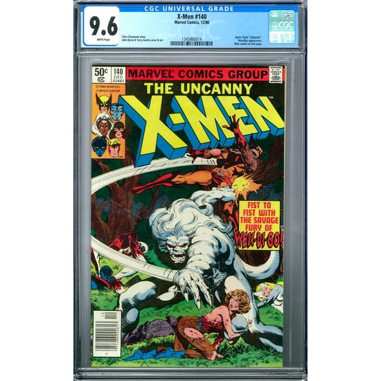 X-Men #140 CGC 9.6 (W) *1345860014*