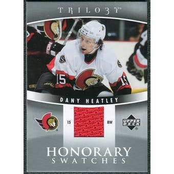 2006/07 Upper Deck Trilogy Honorary Swatches #HSDH Dany Heatley
