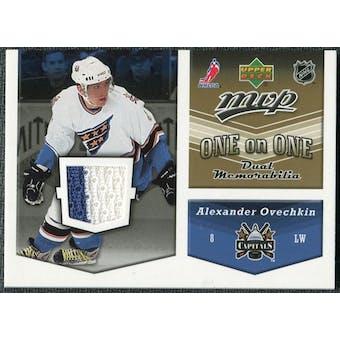 2006/07 Upper Deck MVP Jerseys #OJOK Alexander Ovechkin Ilya Kovalchuk