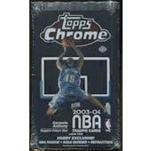 2003/04 Topps Chrome Basketball Hobby Box