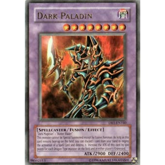 Yu-Gi-Oh Magician's Force Single Dark Paladin Ultra Rare (MFC-105) - SLIGHT PLAY (SP)