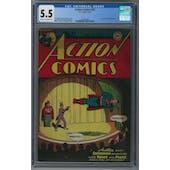 Action Comics #97 CGC 5.5 (C-OW) *1356411003*