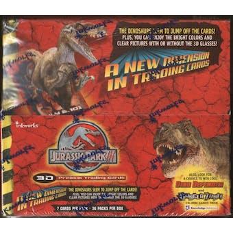 Jurassic Park 3 Hobby Box (2001 InkWorks)