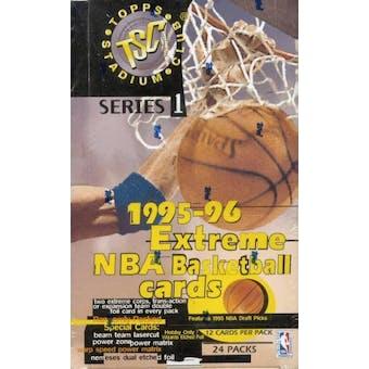 1995/96 Topps Stadium Club Series 1 Basketball Hobby Box