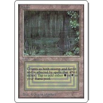 Magic the Gathering Unlimited Single Bayou - HEAVY PLAY (HP)