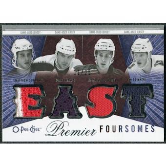 2009/10 OPC Premier Foursomes #4JCTDM Matthew Corrente John Tavares Michael Del Zotto Tyler Myers /25